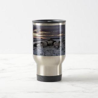 Ovejas - invierno holandés tazas de café