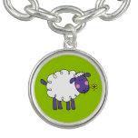 ovejas lanosas de la granja pulsera