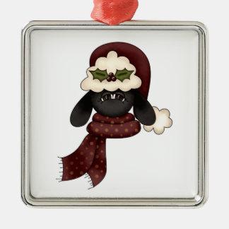 ovejas lindas del navidad ornamento para reyes magos