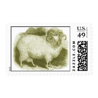 Ovejas merinas 1837 sellos