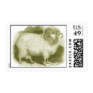 Ovejas merinas 1837 timbres postales