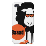 Ovejas negras de Baaad iPhone 4/4S Fundas