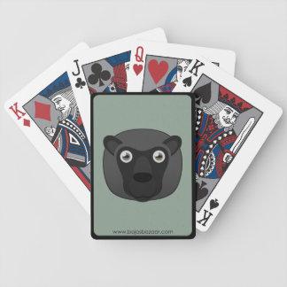 Ovejas negras de papel baraja de cartas