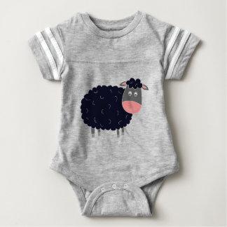 Ovejas negras del Baa del Baa Mameluco De Bebé
