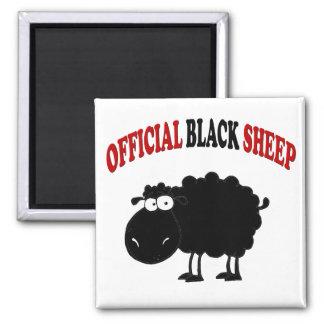 Ovejas negras divertidas imán