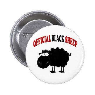 Ovejas negras divertidas pin