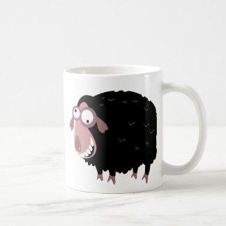 Ovejas negras divertidas taza