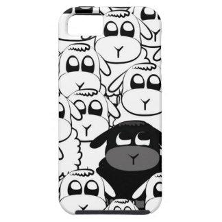 Ovejas negras iPhone 5 Case-Mate carcasas