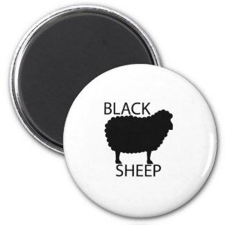 Ovejas negras iman de nevera