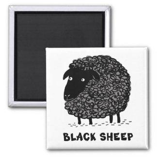 Ovejas negras imán de frigorifico