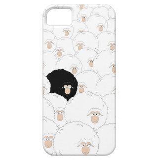 Ovejas negras iPhone 5 cárcasa