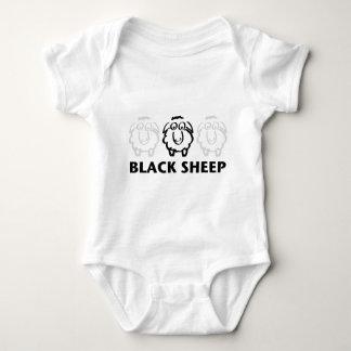 ovejas negras mameluco de bebé