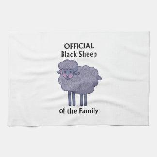 Ovejas negras oficiales de la familia toallas de mano