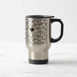 Ovejas negras taza de café
