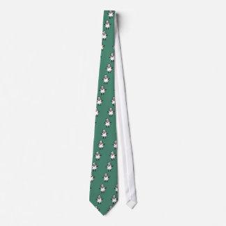 Ovejas punkyes enrrolladas corbatas personalizadas