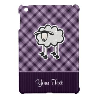 Ovejas púrpuras iPad mini cobertura