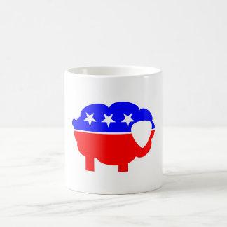 Ovejas republicanas tazas de café