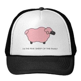 Ovejas rosadas gorras de camionero