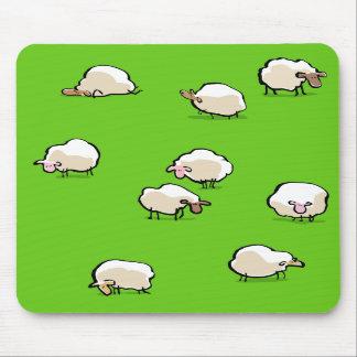 ovejas tapetes de ratón