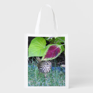 Oven Bird Fall Migration Grocery Bag