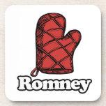 Oven Mitt Romney Beverage Coaster
