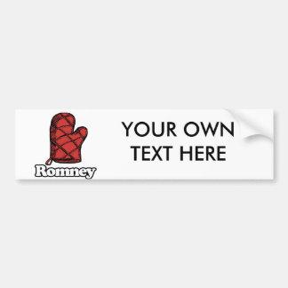 Oven Mitt Romney Bumper Stickers