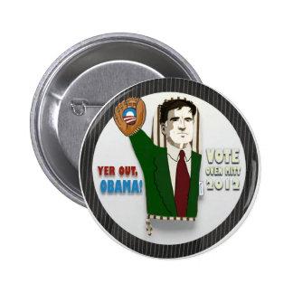 """Oven"" Mitt Romney Button"