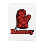 Oven Mitt Romney.png Rectangle Magnets