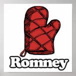 Oven Mitt Romney Print