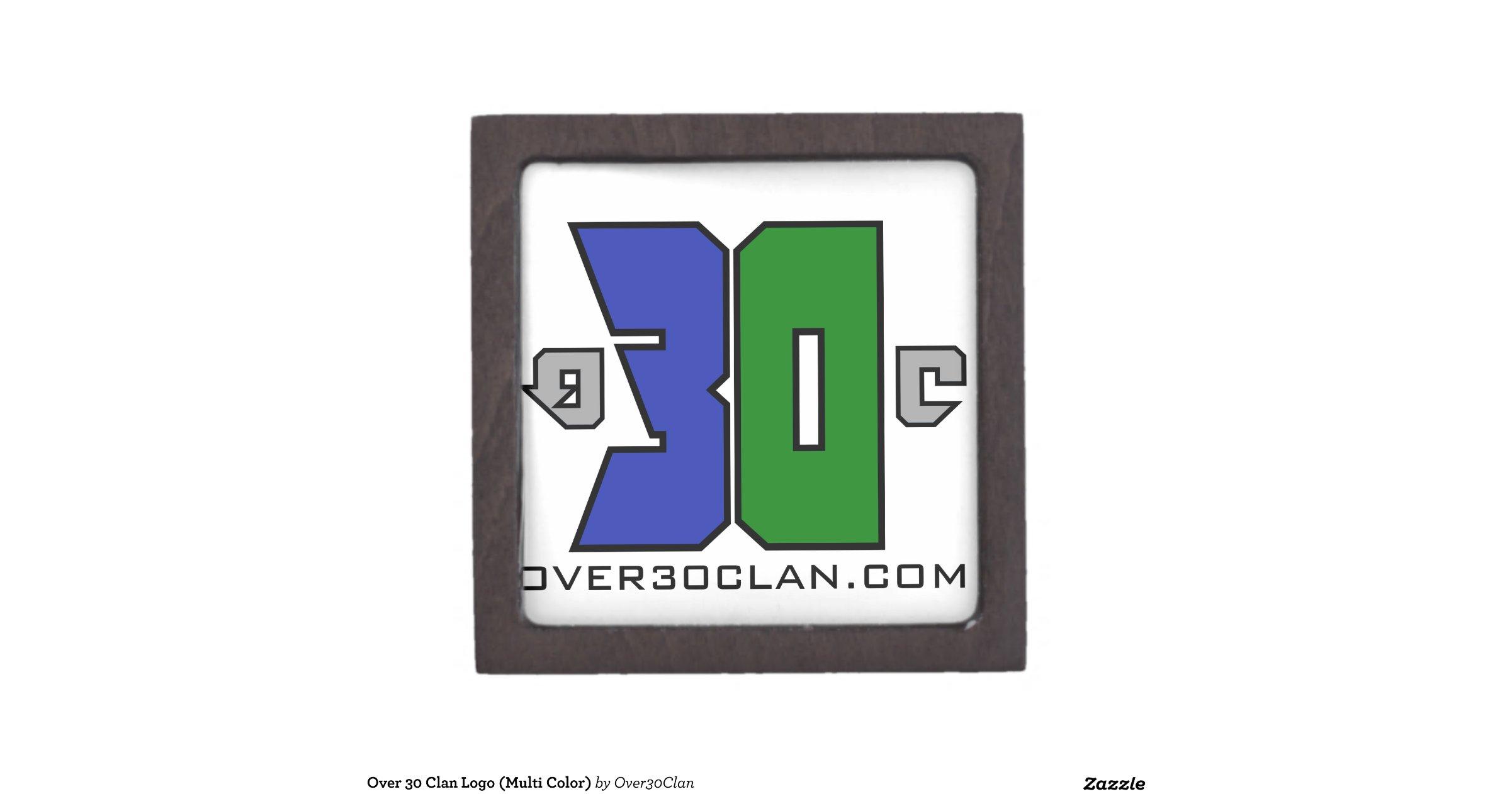 Over 30 Clan Logo Multi Color Premium Jewelry Box Zazzle