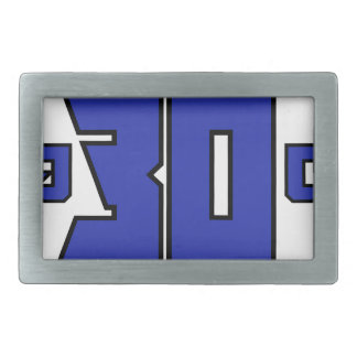 Over 30 Clan Logo (Playstation Blue) Belt Buckle