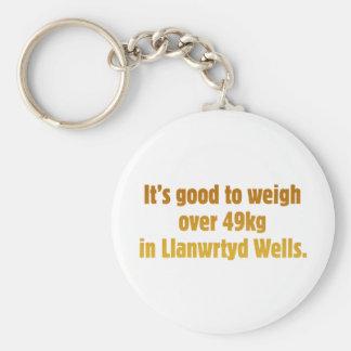 Over 49kg in Llanwrtyd Wells Basic Round Button Keychain