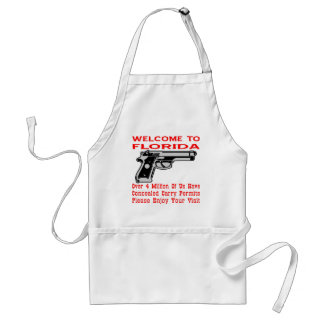Over 4 Million Of Us Have Concealed Carry Permits Adult Apron