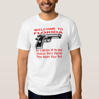 Over 4 Million Of Us Have Concealed Carry Permits T Shirt