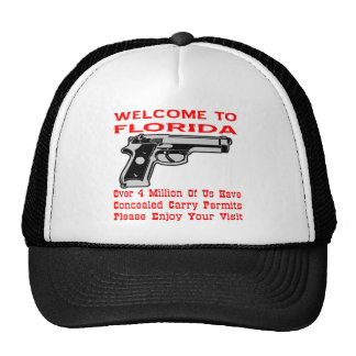 Over 4 Million Of Us Have Concealed Carry Permits Trucker Hat