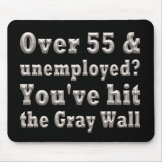 Over 55 Gray Wall Mouse Pads