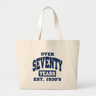 Over 70th Birthday Bags