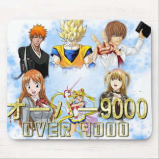 Over 9000 Official Mousepad