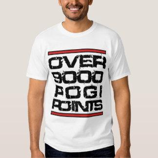 Over 9000 Pogi Points Tee Shirt