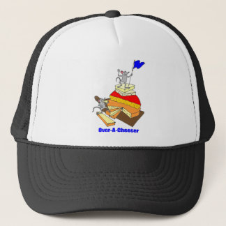 Over-A-Cheeser, Overachiever Trucker Hat