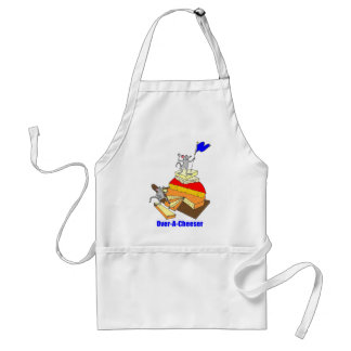 Over-Achiever Cheese Lover Adult Apron
