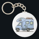"Over Cab Camper RV Keychain<br><div class=""desc"">Bless those that see the world from the windows of an RV! Like the rugged, stalwart folks that crossed the continent in covered wagons, these individuals today settle in every nook and crany of this great land. RVer hearts are as big as the outdoors and as warm as the campfires...</div>"