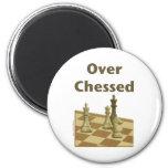 Over Chessed Fridge Magnets
