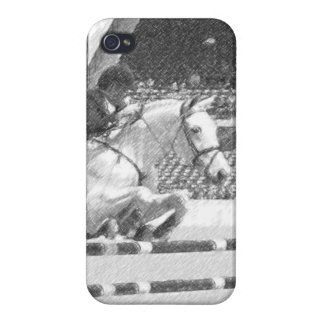 Over Easy - hunter jumper Case For iPhone 4