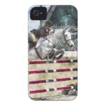 Over Easy Hunter Jumper Show Jumping iPhone 4 Case