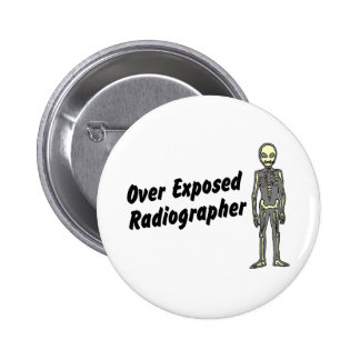 Over Exposed Radiographer Button