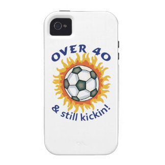 OVER FORTY AND STILL KICKIN iPhone 4 COVER