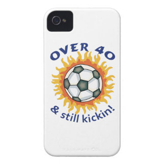 OVER FORTY AND STILL KICKIN iPhone 4 Case-Mate CASE