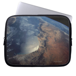 Over Gulf of Aden and Somalia Laptop Computer Sleeves