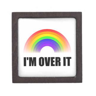 Over It Rainbow Keepsake Box
